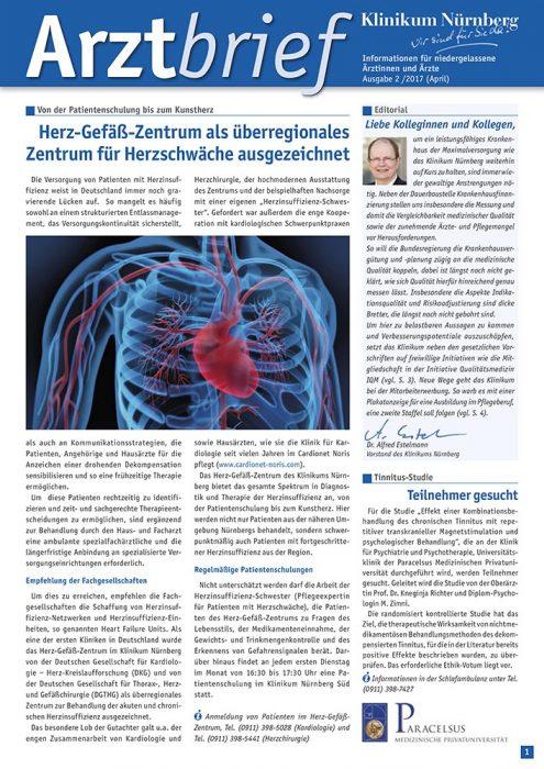 Arztbrief Klinikum Nürnberg