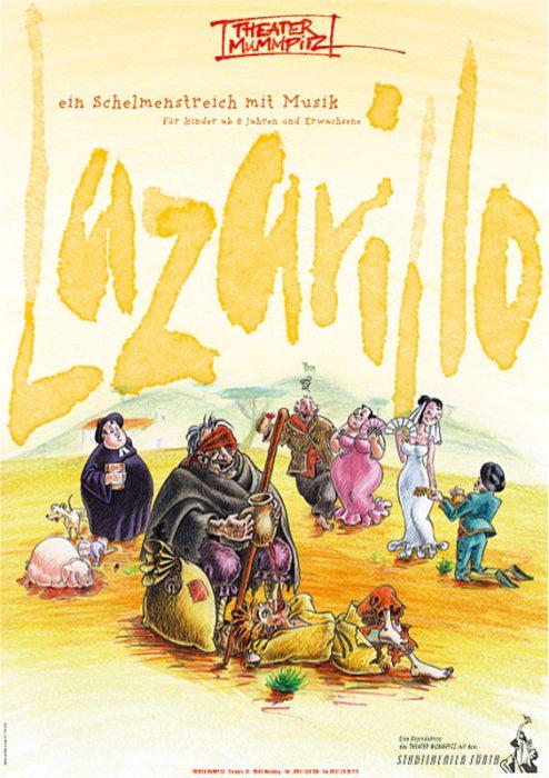 Plakat Lazarillo