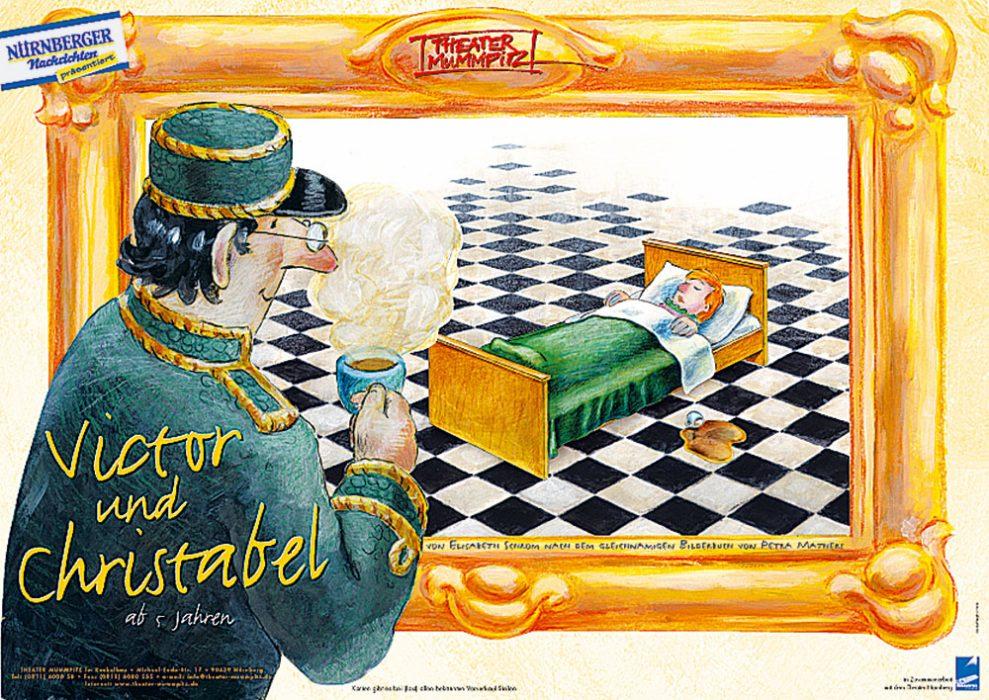 Plakat Victor und Christabel
