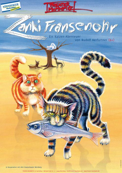 Plakat Zanki Fransenohr